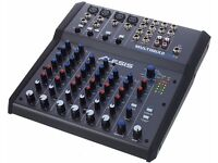 Alesis 8 track usb fx mixer, brand new and unused!