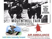 Calling all traders; Mounthill Fair, Saturday 1st October
