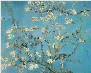 VAN-GOGH-ALMOND-BLOSSOMS-CANVAS-GICLEE-ART-PRINT-REPRO