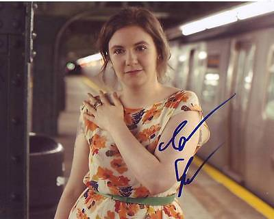 Lena Dunham Signed Photo W  Hologram Coa Hbo Girls