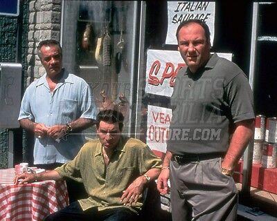The Sopranos cast Paulie Silvio Tony diner 8x10 11x14 16x20 photo 125