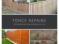 Do you need a fast fence repair?