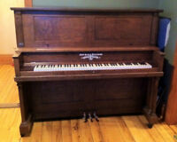 Fully restored New Scale Williams piano PRICE REDUCED