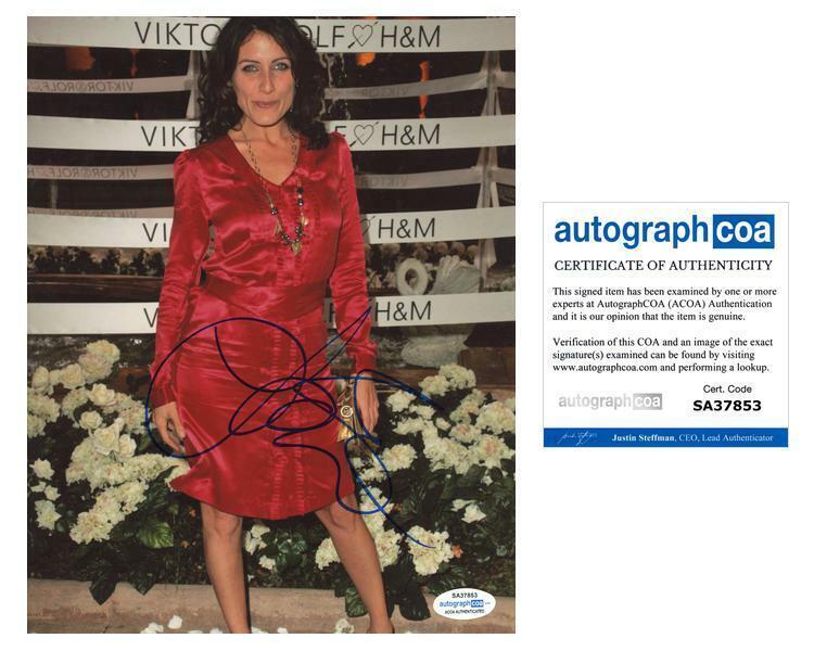"Lisa Edelstein ""House, M.D."" AUTOGRAPH Signed 8x10 Photo ACOA"