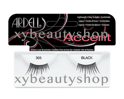 40 Pairs Ardell Natural Accent 305 Fashion Lash Fake Eyelashes Black