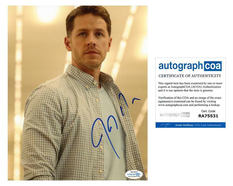 "Josh Dallas ""Manifest"" AUTOGRAPH Signed 8x10 Photo G ACOA"