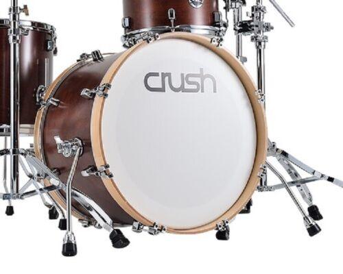 "Crush Drums Sublime Birch 18"" Diameter X 16"" Deep Bass Drum/Satin Walnut/NEW"