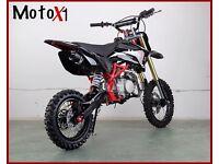 MotoX1 yx 140 stomp engine pitbike dirtbike race ready!