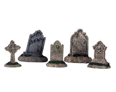 Lemax - Tombstones (937) Set/5, Spooky-Town, Halloween