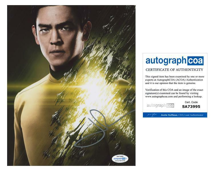 "John Cho ""Star Trek"" AUTOGRAPH Signed 'Sulu' 8x10 Photo ACOA"
