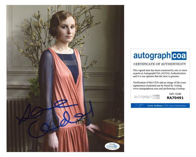 "Laura Carmichael ""Downton Abbey"" AUTOGRAPH Signed 8x10 Photo F ACOA"