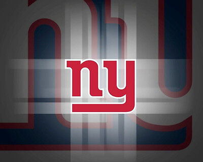 New York Giants Edible Birthday Cake Image Topper Frosting Icing 1/4 - Ny Giants Cake