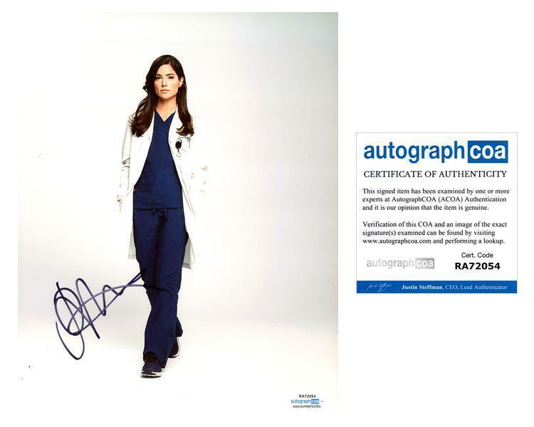 "Janet Montgomery ""New Amsterdam"" AUTOGRAPH Signed 8x10 Photo C ACOA"