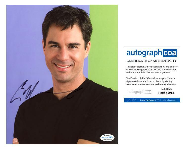 "Eric McCormack ""Will & Grace"" AUTOGRAPH Signed 8x10 Photo C ACOA"