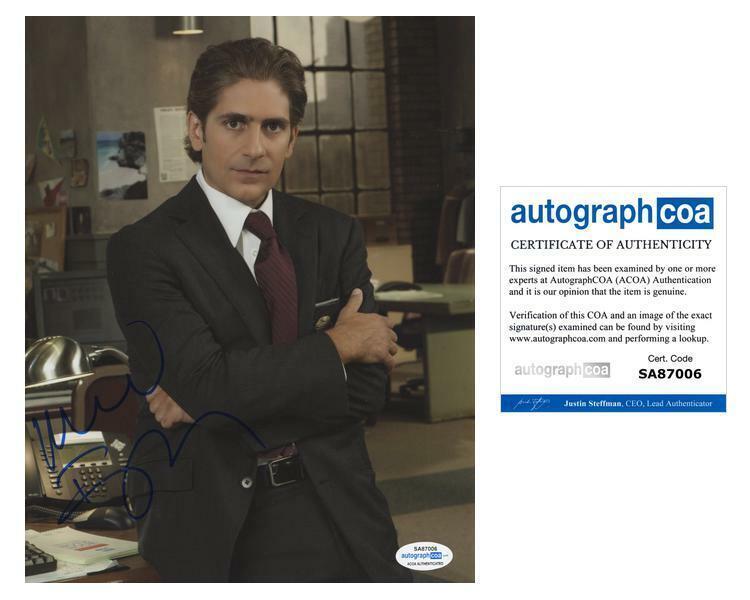 """Michael Imperioli """"Detroit 1-8-7"""" AUTOGRAPH Signed 'Louis Fitch' 8x10 Photo ACOA"""