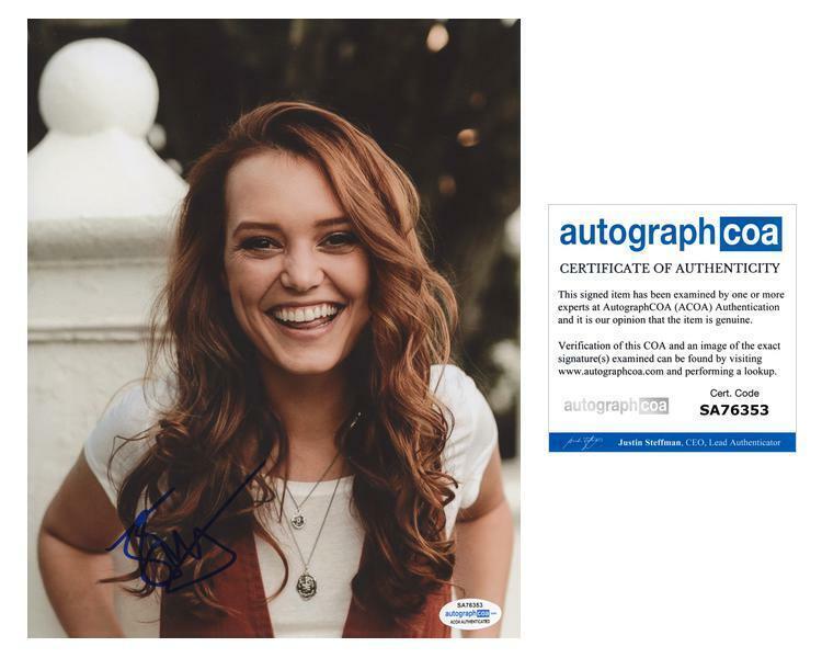 "Jessica Sutton ""Motherland: Fort Salem"" AUTOGRAPH Signed 8x10 Photo B ACOA"