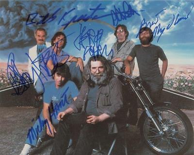 REPRINT - GRATEFUL DEAD Jerry Garcia Autographed Signed  8 x 10 Photo RP