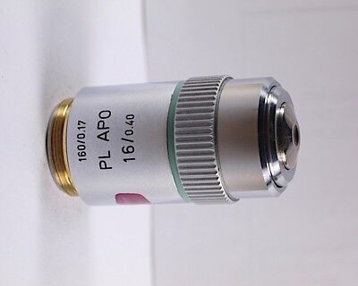 Leitz Pl Apo 16x 160mm Tl Microscope Objective W Nd Filter