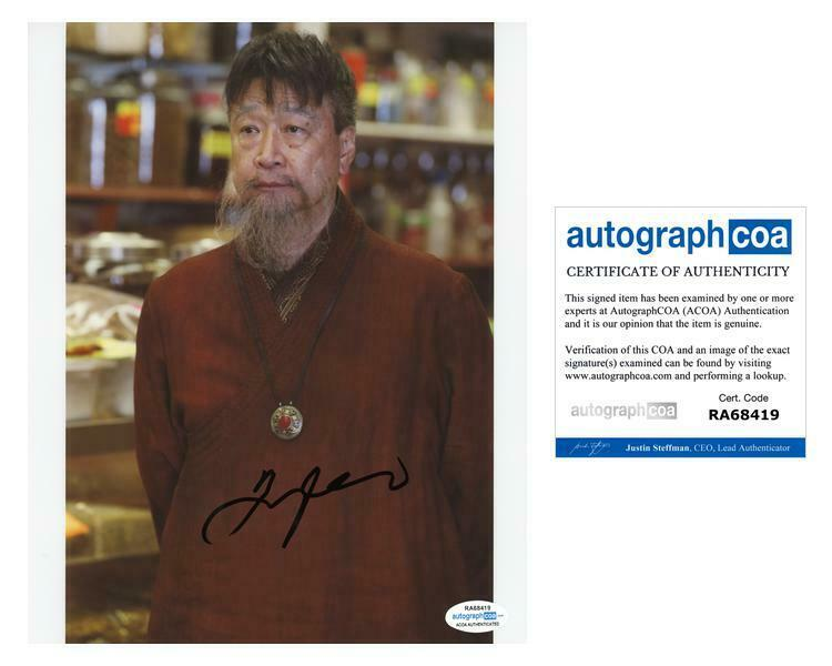 "Tzi Ma ""Once Upon a Time"" AUTOGRAPH Signed 8x10 Photo ACOA"