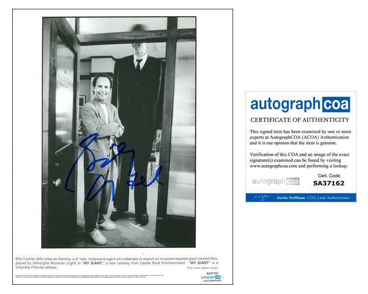 "Billy Crystal ""My Giant"" AUTOGRAPH Signed 'Sammy' 8x10 Photo ACOA"