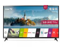 """50""""LG smart TV £250 ,price is negotiable and guaranteed."""