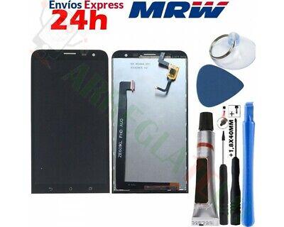 Pantalla Completa Para Asus Zenfone 2 Laser Ze601Kl Z011D Fhd Negro Negra