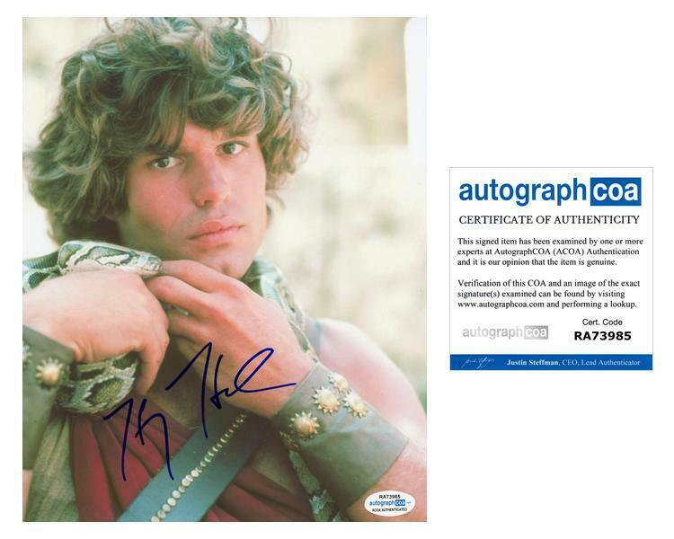 "Harry Hamlin ""Clash of the Titans"" AUTOGRAPH Signed 8x10 Photo ACOA"