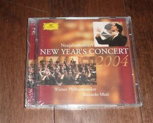 NEW Vienna New Year's Concert 2004 CD