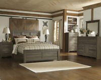 6pc queen Ashley furniture bedroom set NEW IN BOX