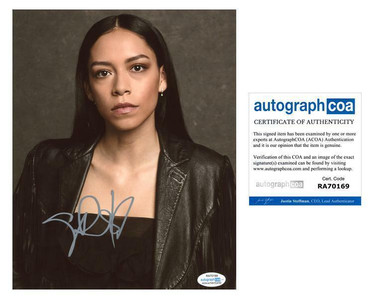 "Sivan Alyra Rose ""Chambers"" AUTOGRAPH Signed 8x10 Photo B ACOA"