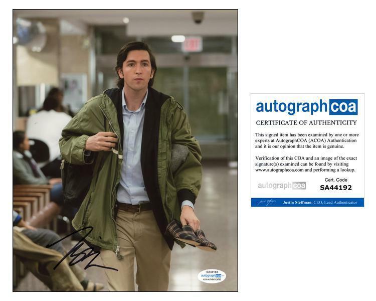 """Nicholas Braun """"Succession"""" AUTOGRAPH Signed 'Cousin Greg' 8x10 Photo D ACOA"""