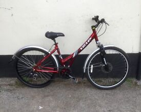 "LADIES MOUNTAIN BIKE 17"" FRAME £55"