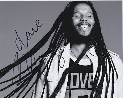 ZIGGY MARLEY signed autographed photo (1)