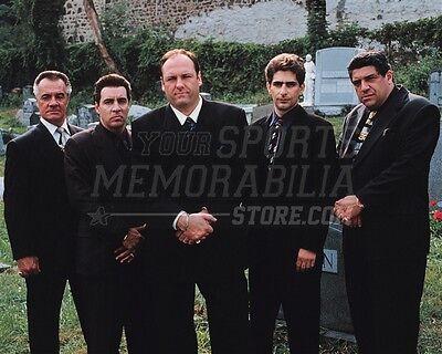 The Sopranos Paulie Silvio Tony Christopher cemetery 8x10 11x14 16x20 photo 126