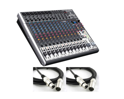 Behringer Xenyx X2222USB Premium 22-Input 2/2-Bus Mixer with