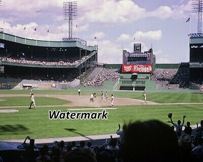 - MLB 1960's Polo Grounds New York Mets Game Action Color 8 X 10 Photo Picture