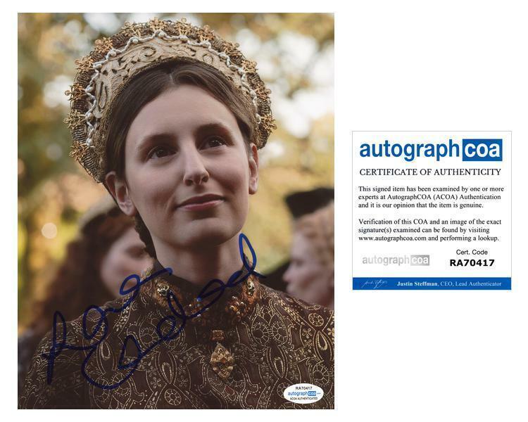 "Laura Carmichael ""The Spanish Princess"" AUTOGRAPH Signed 8x10 Photo ACOA"