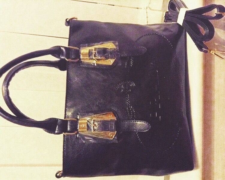 b351be67ff94 ... closeout prada milano dal 1913 leather handbag e672a 48307