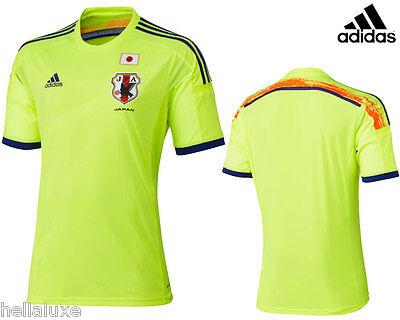 BN~Adidas JAPAN JFA Soccer Football Brazil 2014 WORLD CUP Shirt Jersey~Men sz XL image