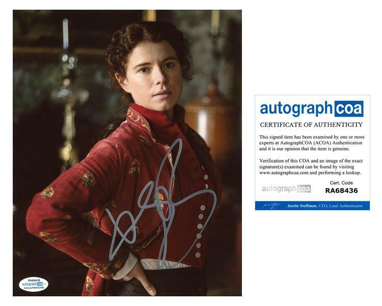 """Jessie Buckley """"The Woman in White"""" AUTOGRAPH Signed 8x10 Photo ACOA"""