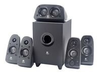 Logitech Z506 Speaker System ‑ 5.1 ‑ 75W RMS (power adapter problem)