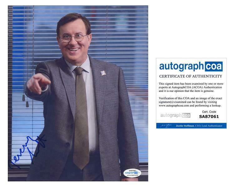 "Jeremy Swift ""Ted Lasso"" AUTOGRAPH Signed 'Leslie Higgins' 8x10 Photo ACOA"