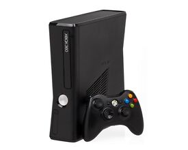 xbox 360 slim 250gb with mw3 game, great condition
