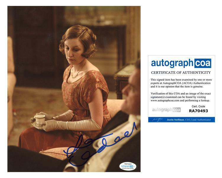 """Laura Carmichael """"Downton Abbey"""" AUTOGRAPH Signed 8x10 Photo D ACOA"""