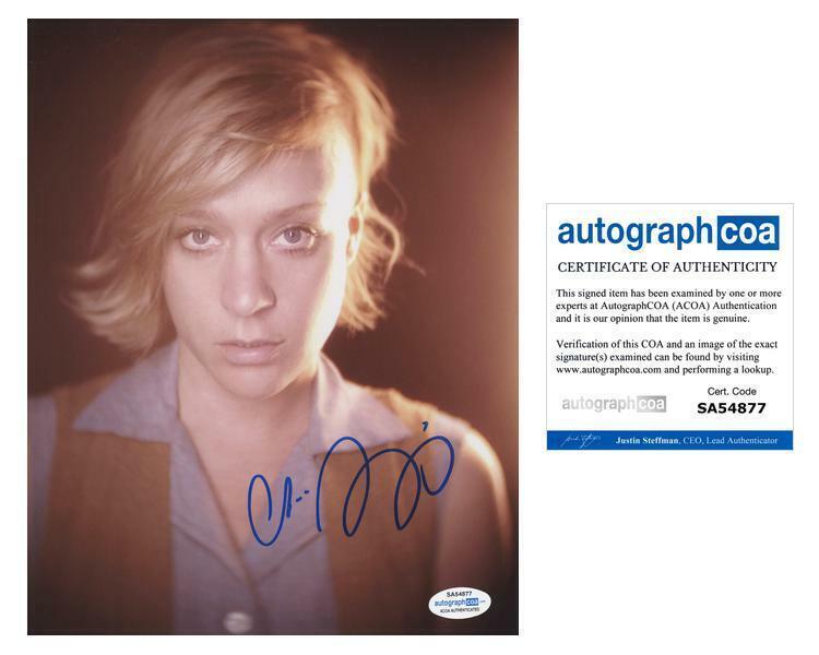 """Chloe Sevigny """"American Horror Story"""" AUTOGRAPH Signed 8x10 Photo B ACOA"""