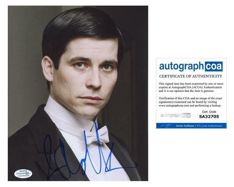 "Rob James-Collier ""Downton Abbey"" AUTOGRAPH Signed 'Thomas Barrow' 8x10 Photo B"