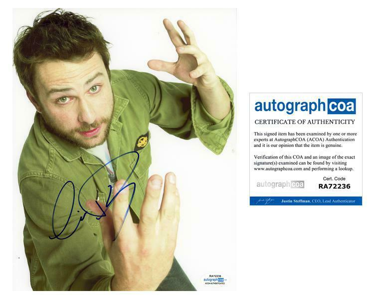 "Charlie Day ""It's Always Sunny in Philadelphia"" AUTOGRAPH Signed 8x10 Photo ACOA"