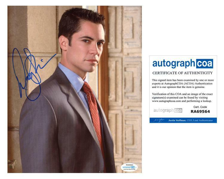 "Danny Pino ""Law & Order: SVU"" AUTOGRAPH Signed 8x10 Photo B ACOA"