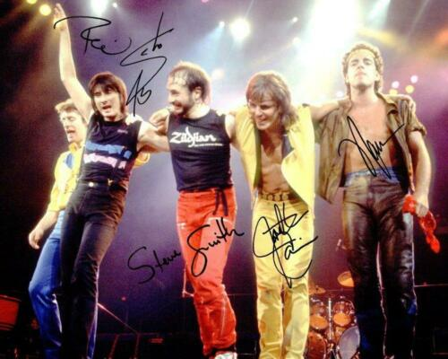 REPRINT - JOURNEY Band Steve Perry - Neal Schon Signed 8 x 10 Photo Poster RP