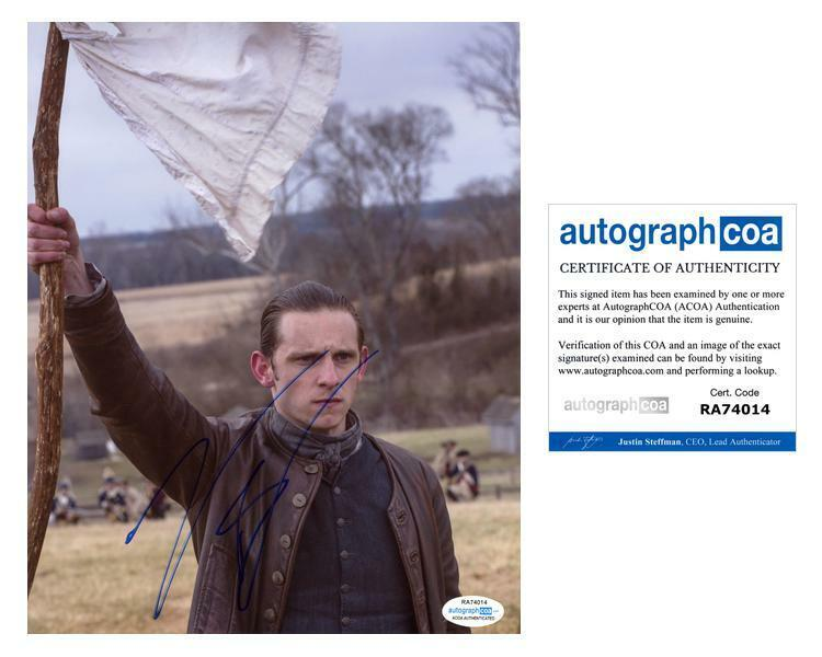 "Jamie Bell ""TURN: Washington's Spies"" AUTOGRAPH Signed 8x10 Photo C ACOA"